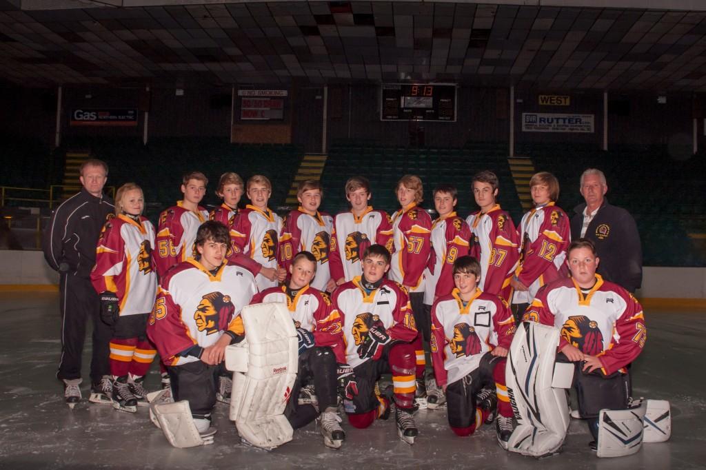U16 Team Photo 2012/13